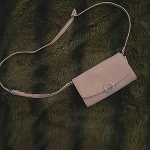 Rose Pink Night Out Purse with Card Slots